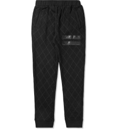 Grand Scheme Black Quilted Track Pants Picutre