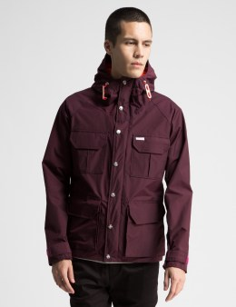TOPO DESIGNS Burgundy Mountain Jacket Picture