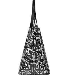 Medicom Toy Black Medicom x FABRICK x ROSTARR Tote Bag Model Picutre