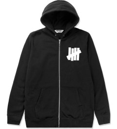 Undefeated Black 5 Strike Basic Zip Hoodie Picutre