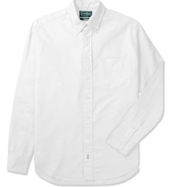 Gitman Bros. Vintage White Vintage Button Down Shirt Picture