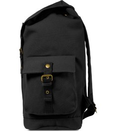 Carhartt WORK IN PROGRESS Black Tramp Backpack Model Picture