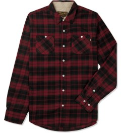 Benny Gold Burgundy Academic Flannel L/S Shirt Picture