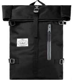Poler Black Roll-Top Backpack Picutre
