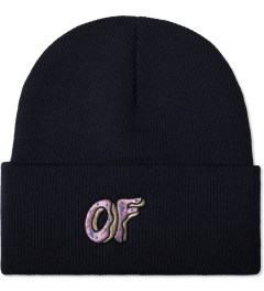 Odd Future Navy OF Donut Beanie Picture