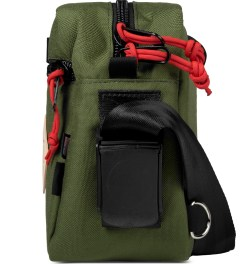 TOPO DESIGNS Olive Mini Mountain Bag Model Picture