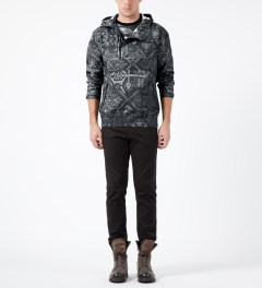 Black Scale Black Erlanger Jacket Model Picture
