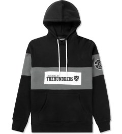 The Hundreds Black Base Pullover Hooded Sweater Picture