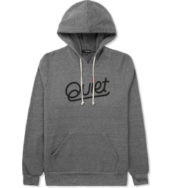 The Quiet Life Heather Grey Script Pullover Hoodie Picture