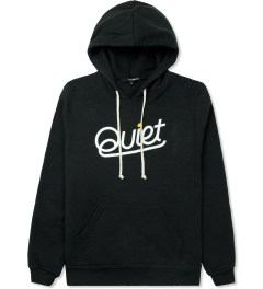 The Quiet Life Black Script Pullover Hoodie Picture