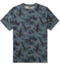 Carhartt WORK IN PROGRESS Navy S/S Eagle T-Shirt Picutre