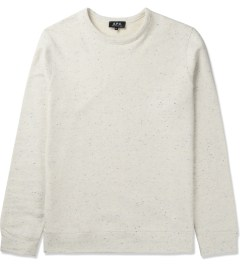 A.P.C. Ecru Colletage Sweater Picutre