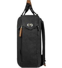 QWSTION Washed Black Daypack Model Picture