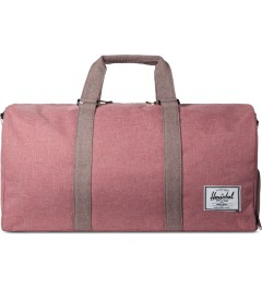Herschel Supply Co. Rust Crosshatch Novel Duffle Bag Picutre