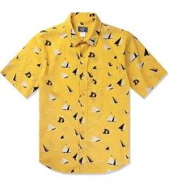 Odd Future Gold Sinking Boat S/S Woven Shirt Picutre