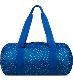 Herschel Supply Co. Cobalt Polka Dot Packable Duffle Bag Picutre