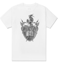 Black Scale White Knighted Crest T-Shirt Picture