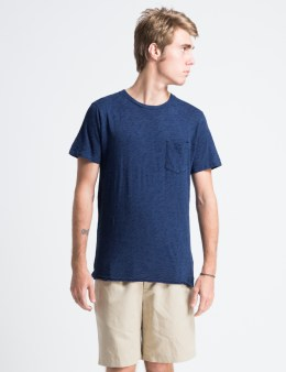 A.P.C. Indigo Pocket T-Shirt Picture