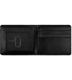 Carhartt WORK IN PROGRESS Black Cow Leather Card Wallet Model Picutre