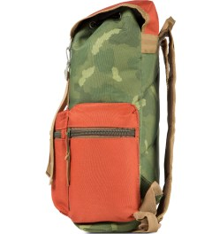 Poler Camo/Orange Roamers Pack Backpack Model Picutre