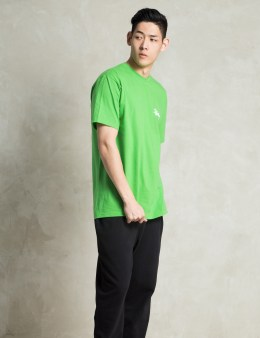 Stussy Green Basic Logo T-Shirt Picture