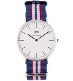Daniel Wellington Nato Silver Classic Belfast 40mm Watch Picture