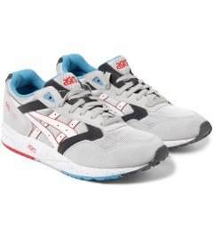 ASICS Soft Grey/White Gel Sage Sneakers Model Picutre