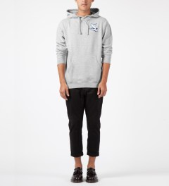 Benny Gold Grey Levi Griffin Pullover Sweater Model Picture
