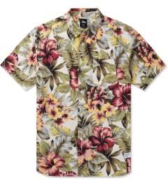Stussy Natural Island Flower Shirt Picutre