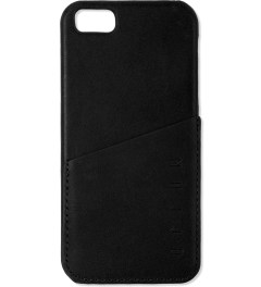 MUJJO Black Leather iPhone 5 Wallet Case Picture