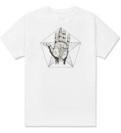 Black Scale White Left Hand Path T-Shirt Picture