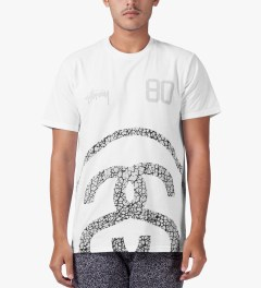 Stussy White Elephant Link T-Shirt Model Picture