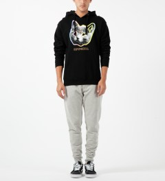 Odd Future Black OFWGKTA Tron Cat Hoodie Model Picture