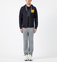 Undefeated Heather Grey Double Knit II Pants Model Picture