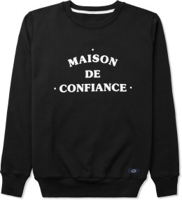 Bleu De Paname Noir Uni Maison Sweater Picture