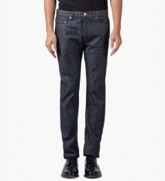 A.P.C. Indigo New Standard Jeans Model Picture