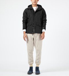Penfield Black Clarkdale Hooded Shell Jacket Model Picture