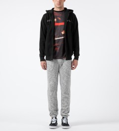 Black Scale Grey Barfield Sweatpants Model Picture