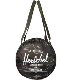 Herschel Supply Co. Tiger Camo Packable Duffle Bag Model Picutre