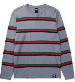 Stussy Grey Mason Sweater Picutre