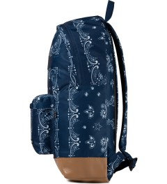 Undefeated Navy Bandana Backpack Model Picture