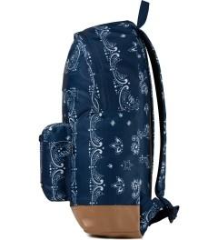 Undefeated Navy Bandana Backpack Model Picutre
