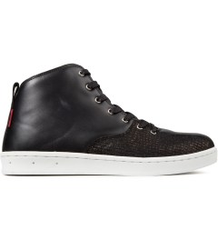 Gourmet Black Snake/White Quattro Skate 2 x Black Scale Shoes Picture