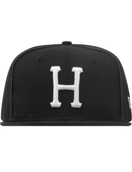 HUF Black H New Era  Picture
