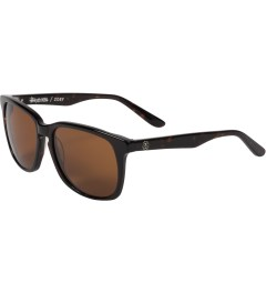 Stussy Dark Tortoise/Brown Zoey Sunglasses Model Picutre