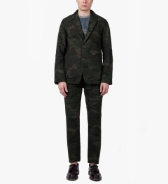 Garbstore Camouflage Rydal Lodge Suit Jacket Model Picutre