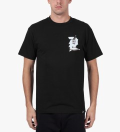 Primitive Black Gully T-Shirt Model Picture
