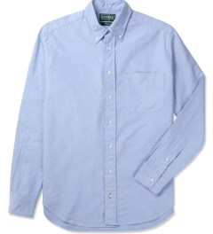 Gitman Bros. Vintage Blue Vintage Button Shirt Picutre