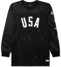 Stampd Black USA Panel L/S Jersey Picture