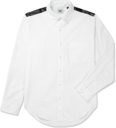 Mark McNairy White Contrast Yoke L/S Oxford Shirt Picture